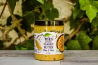 Crema de cacahuetes Ecológica con semillas de chía y lino