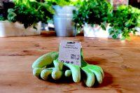 Guantes de jardinería de caucho natural y algodon ecologico