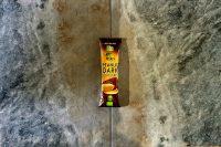 Barrita ecológica de cacahuete y chocolate negro