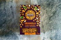 Granola Ecológica con miel y avellana, Biona 375gr